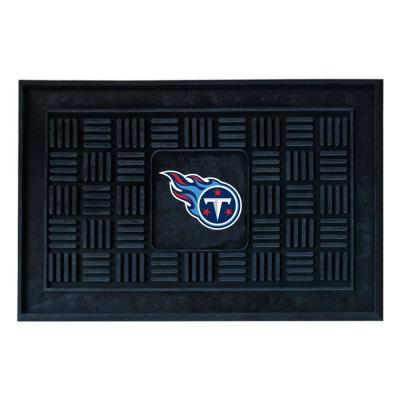 NCAA Tennessee Titans Blue 18 in. x 30 in. Indoor/Outdoor Door Mat