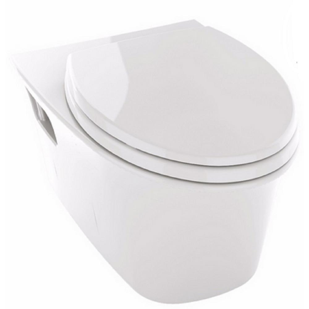 TOTO Maris Wall-Hung Elongated Toilet Bowl Only with CeFiONtect in ...