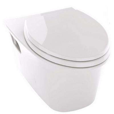 Maris Wall-Hung Elongated Toilet Bowl Only with CeFiONtect in Cotton White
