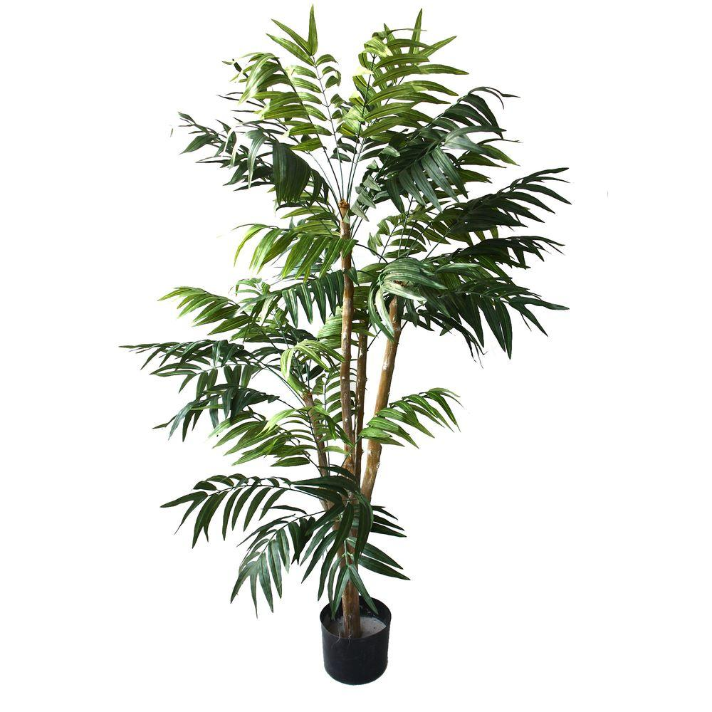 5 ft. Tropical Palm Tree, Green