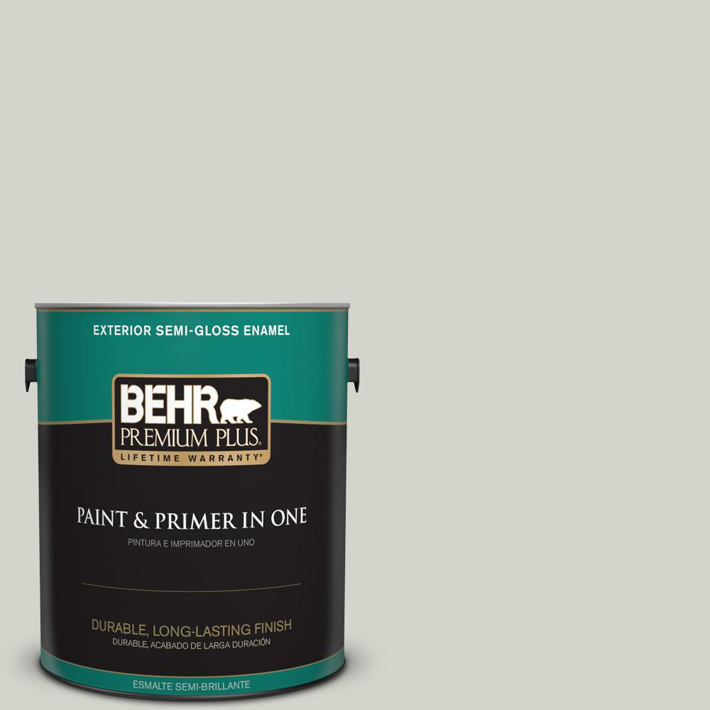 1 gal. #PPU25-10 Soft Secret Semi-Gloss Enamel Exterior Paint