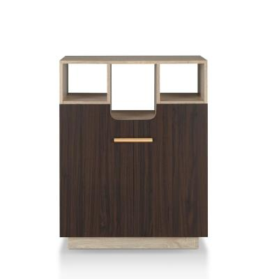 Soper Natural Oak Storage Cabinet with Double Doors