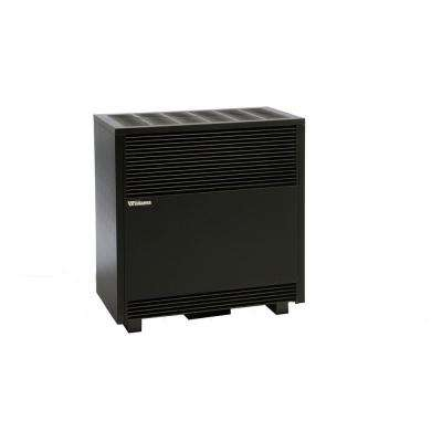 50,000 BTU/hr Enclosed Front Console Propane Gas Room Heater with Blower