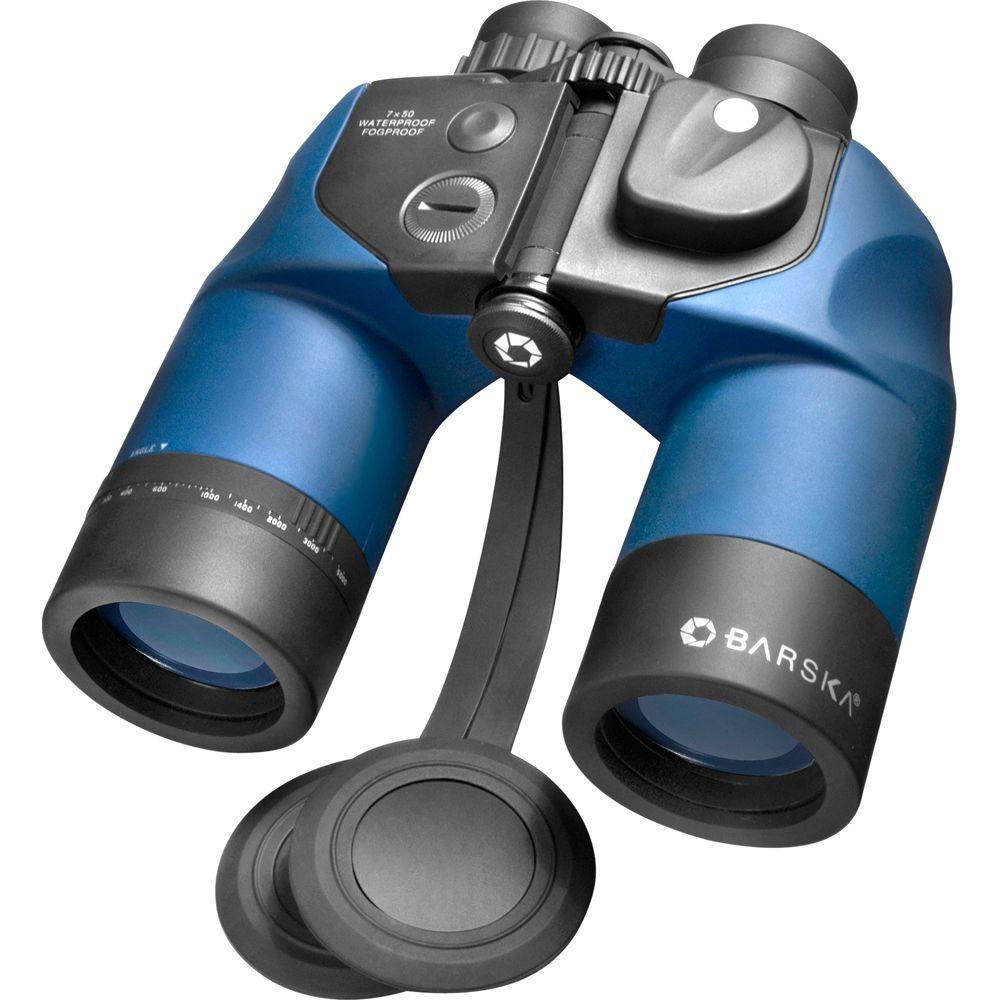 Deep Sea 7x50 Waterproof Binoculars with Reticle