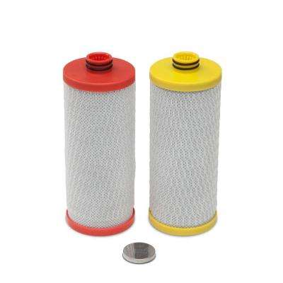 2-Stage Under Counter Filter Replacement Cartridges