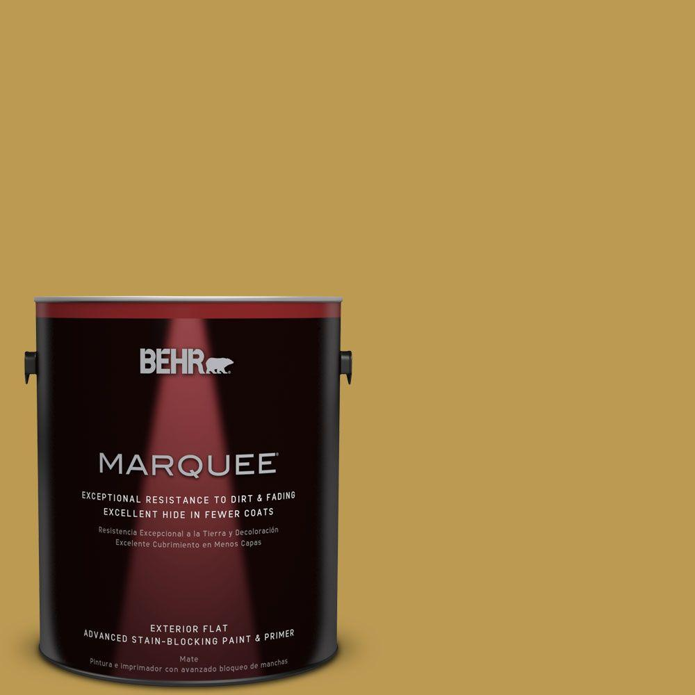 BEHR MARQUEE 1-gal. #M320-6 Tangy Green Flat Exterior Paint