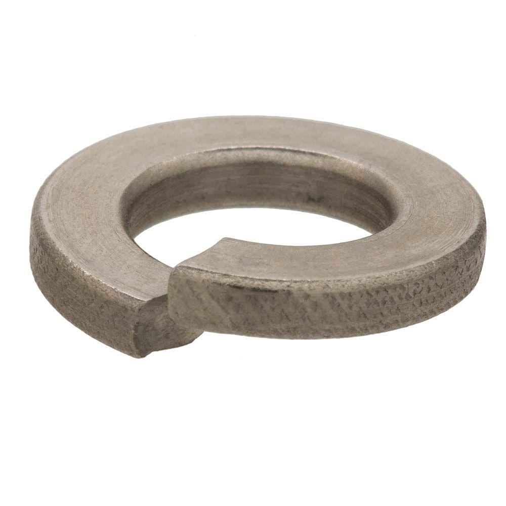Everbilt M12 10.9 in. Zinc-Plated Metric Lock Washer (5-Piece per Bag)