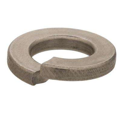 #8 Zinc-Plated Steel Split Lock Washer (30-Pack)