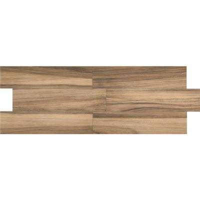 Woodbury Light Brown 9 in. x 36 in. Color Body Porcelain Floor and Wall Tile (13.02 sq. ft. / case)