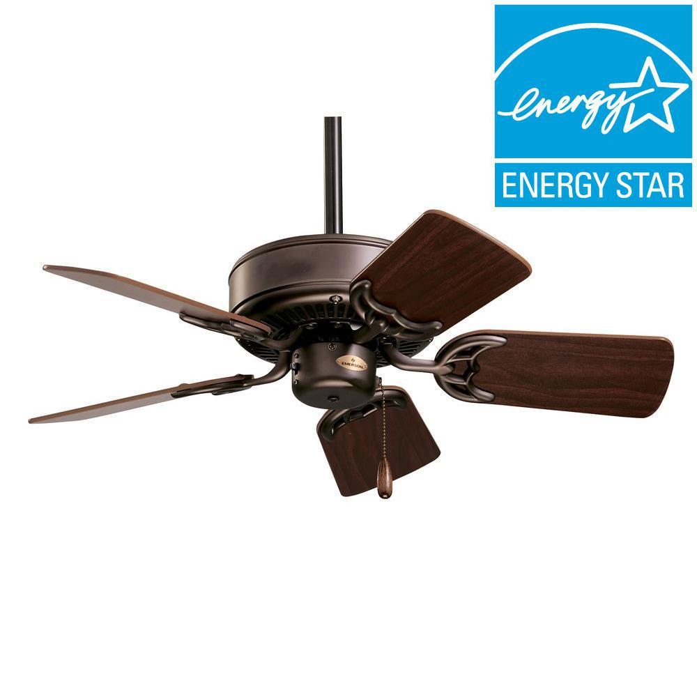 Illumine Zephyr 29 in. Oil Rubbed Bronze Indoor Ceiling Fan