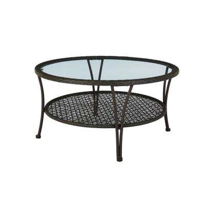 Arthur All-Weather Wicker Patio Coffee Table