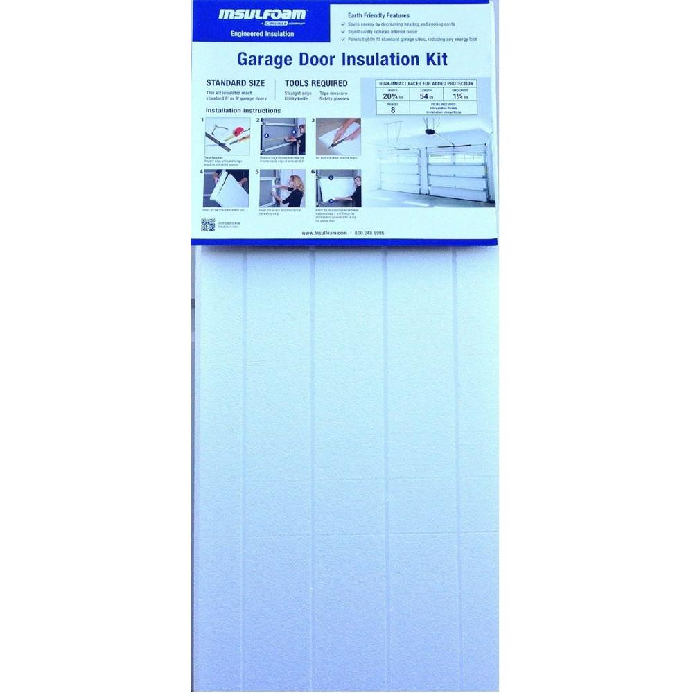 Insulfoam garage door insulation kit 320737 the home depot insulfoam garage door insulation kit solutioingenieria Choice Image