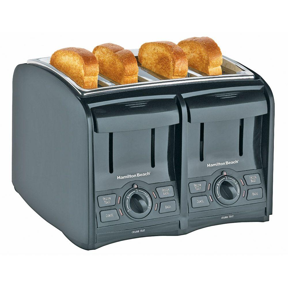 Hamilton Beach Smart Toast 4-Slice Cool Touch Toaster-DISCONTINUED