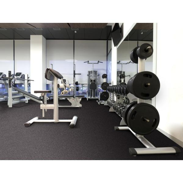 Rubber Gym Weight Room Flooring Tiles