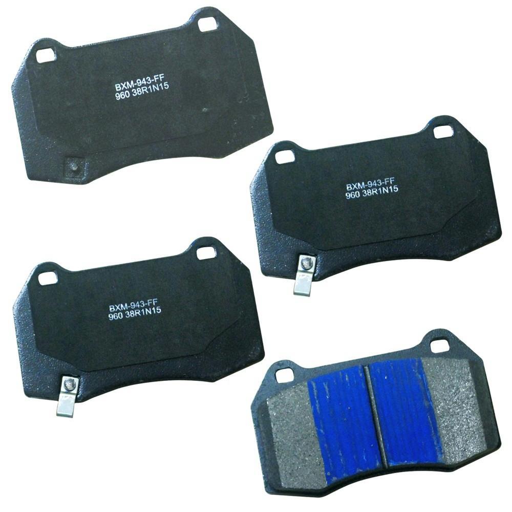 Front Stop Semi-Metallic Disc Brake Pad fits 2003-2009 Nissan 350Z Sentra