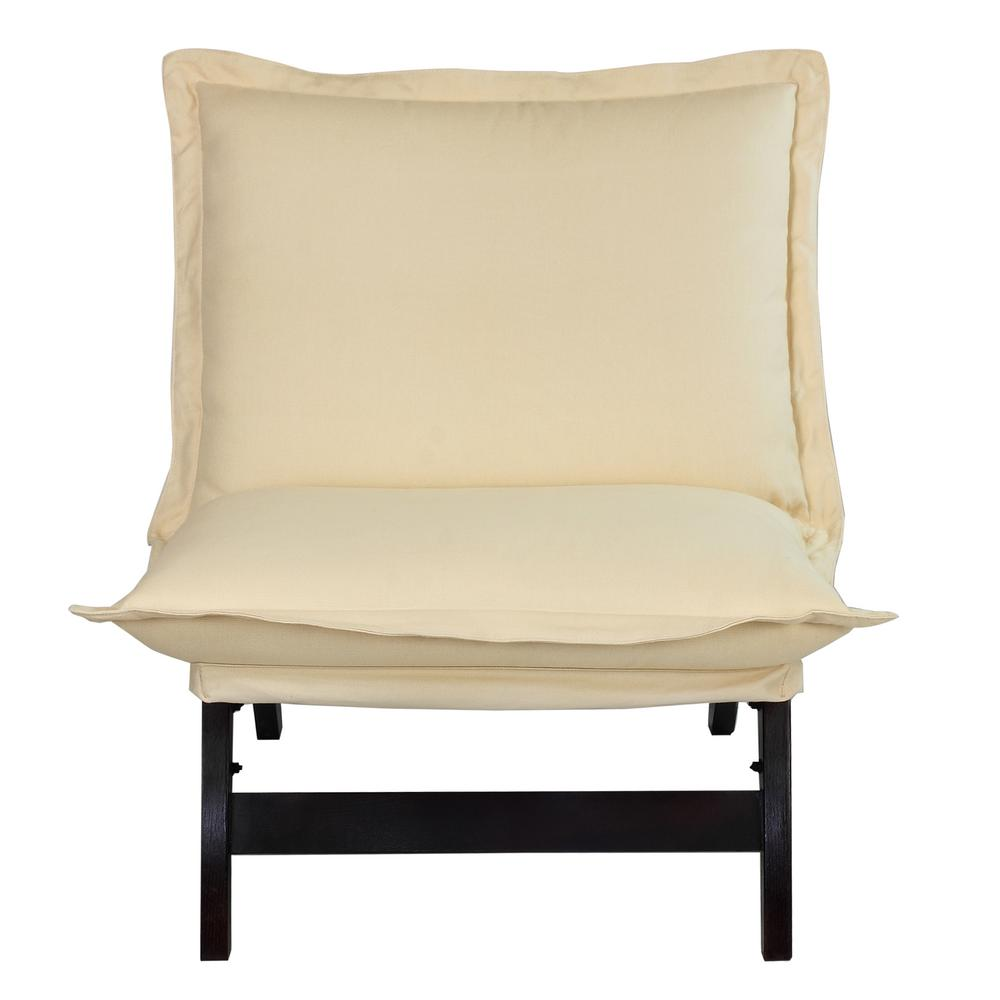 Casual Home Espresso Casual Folding Lounger Chair 150 04
