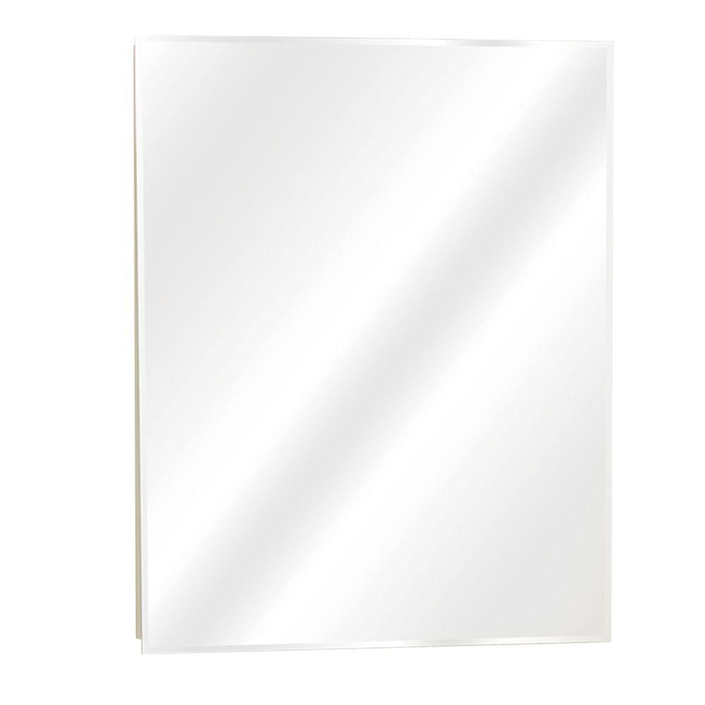 Zenna Home 24 in. W x 30-1/2 in. H x 5 in. D Frameless Recessed or ...