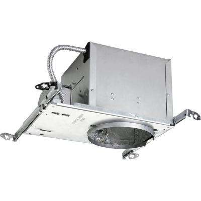 6 in. New Construction Sloped Ceiling Recessed Metallic Housing with Air-Tight, IC