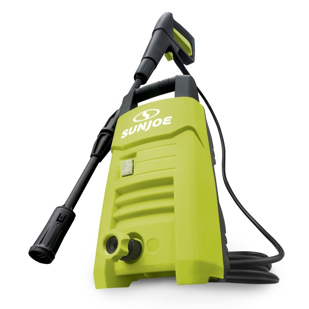 sun joe 1350 psi 1.45 gpm 10 amp electric pressure washer-spx200e