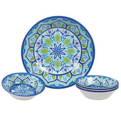 Morocco Multicolor Salad/Serving Set (Set of 5)
