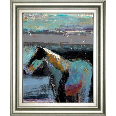 """22 in. x 26 in. """"Diva"""" by Dominique Samyn, D. Framed Printed Wall Art"""