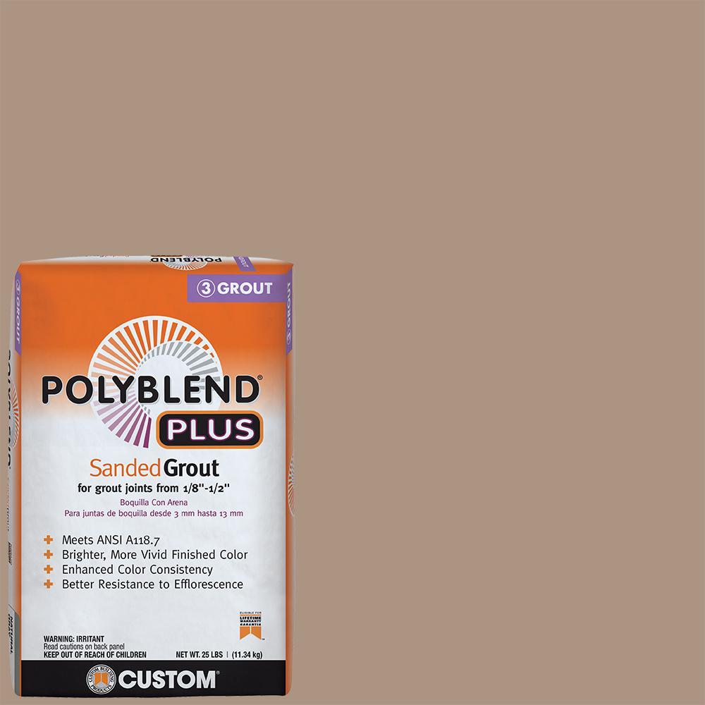 Polyblend Plus #135 Mushroom 25 lb. Sanded Grout