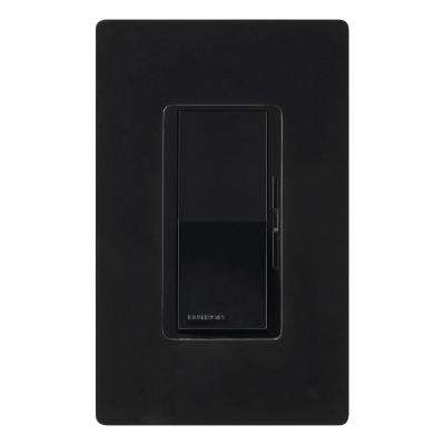 Diva Dimmer for Incandescent and Halogen, 600-Watt, Single-Pole, Black