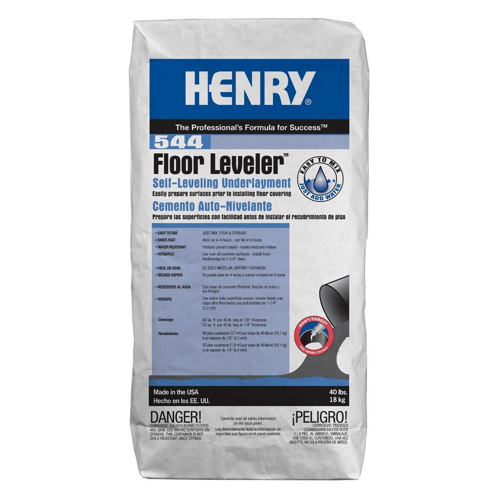 544 Floor Leveler 40 lbs. Self- Leveling Underlayment