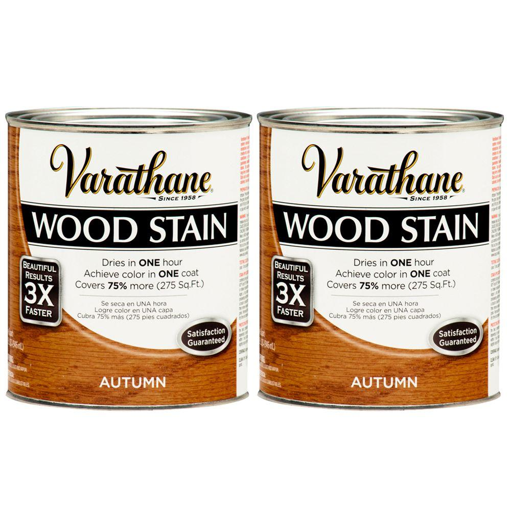 Varathane 1 Qt. Autumn Wood Stain (2-Pack)-DISCONTINUED