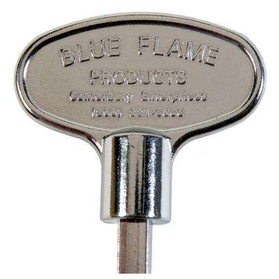 3 in. Universal Gas Valve Key in Polished Chrome