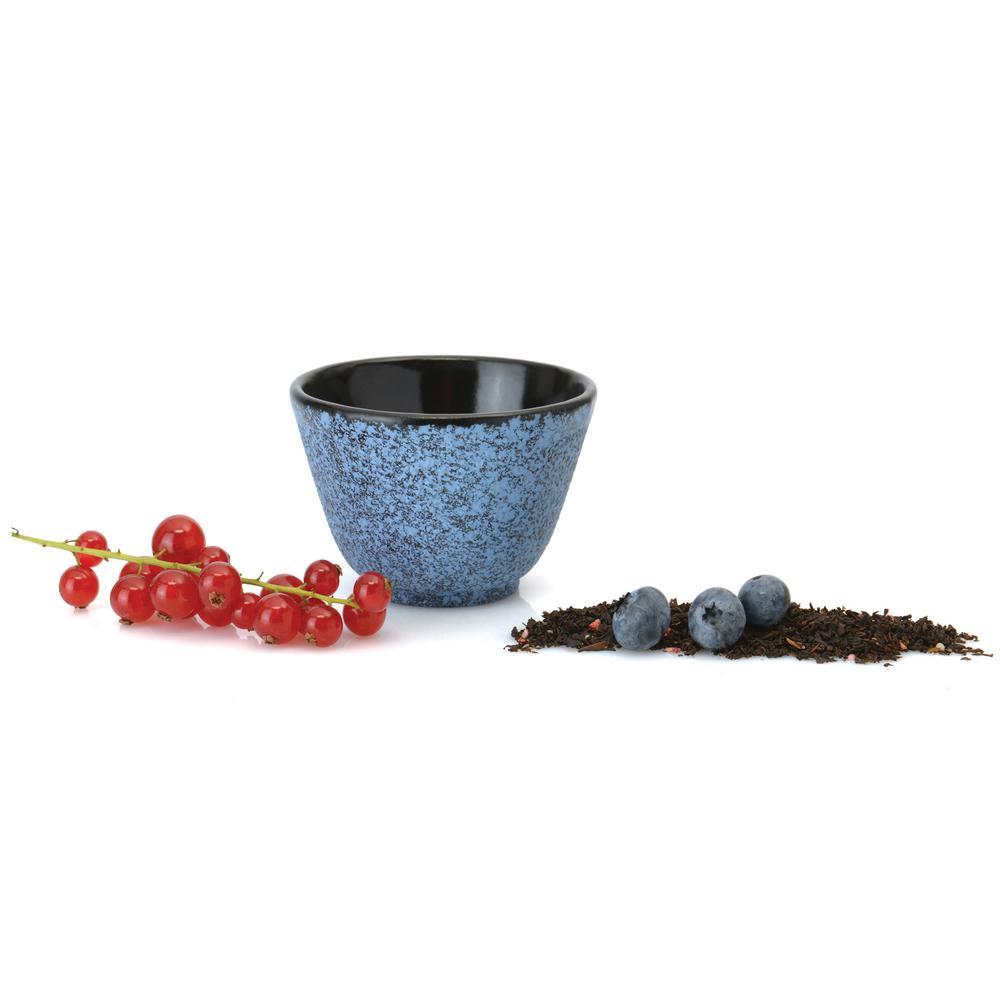Studio Blue Cast Iron 3.5 oz. Tea Bowl (Set of 2)