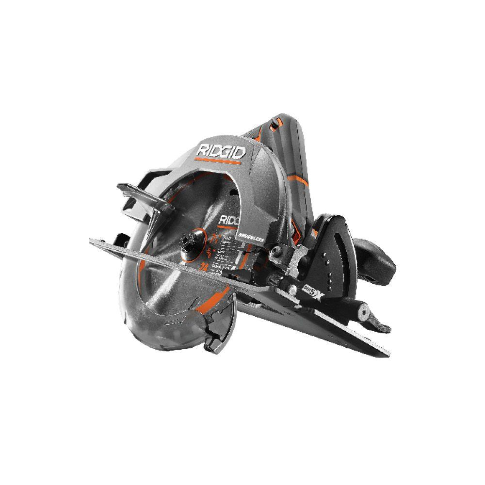 RIDGID GEN5X 18-Volt 7-1/4 in. Cordless Brushless Circular Saw (Tool-Only)
