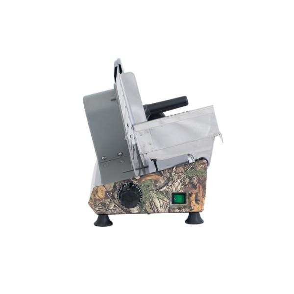 Magic Chef - 150 W 8.6 in. Realtree Xtra Camoflauge Electric Meat Slicer