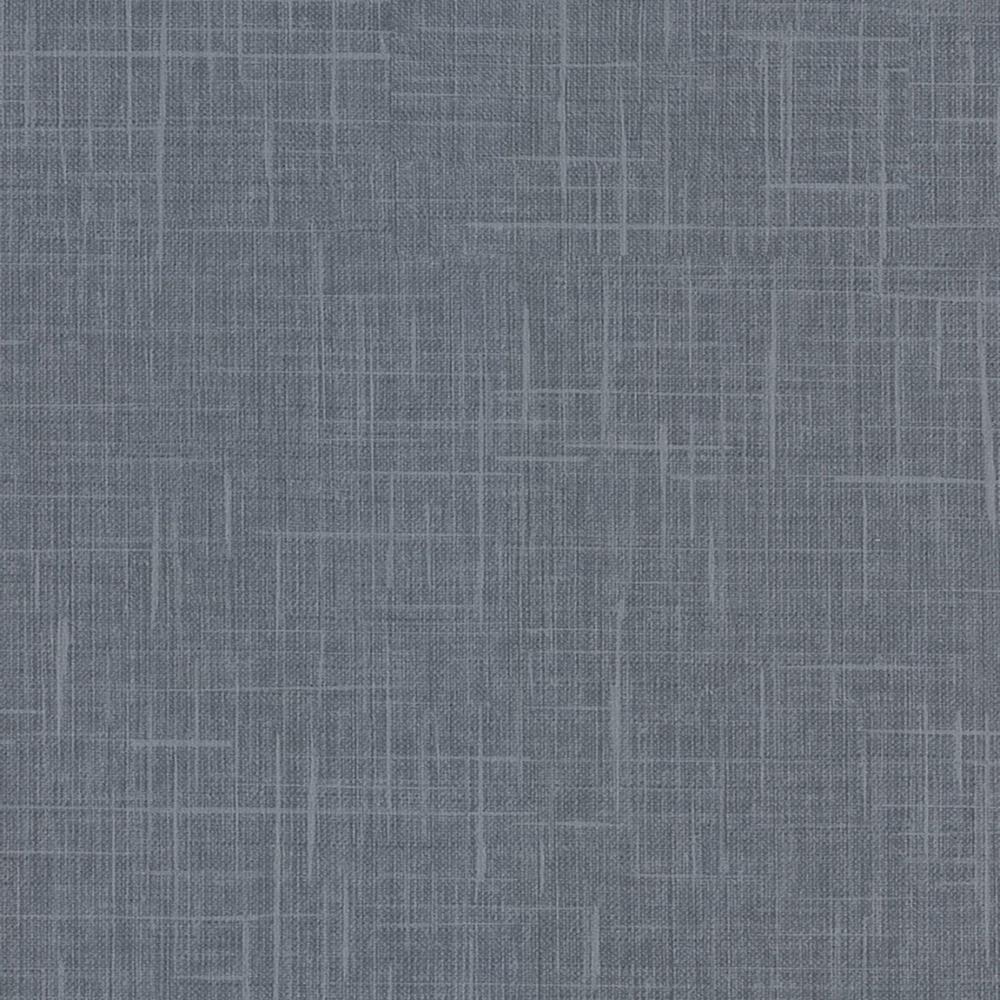 8 in. x 10 in. Stannis Teal Linen Texture Wallpaper Sample