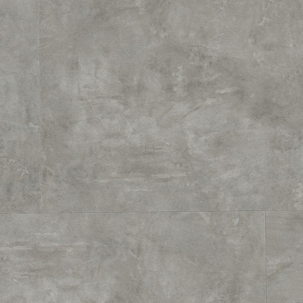 Home Legend Concrete Light 4mm T x 11-23/32 in. Wx23-23/32 in. L Click Lock Luxury Vinyl Plank (15.44 sq. ft. / case)-DISCONTINUED