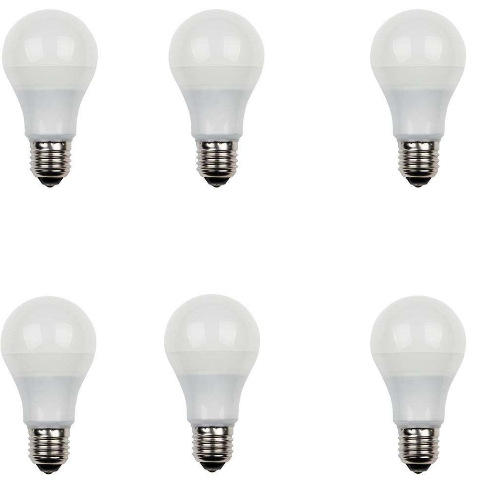 Westinghouse 40W Equivalent Daylight Omni A19 Dimmable LED Light Bulb (6-Pack)