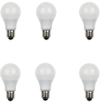 40W Equivalent Daylight Omni A19 Dimmable LED Light Bulb (6-Pack)