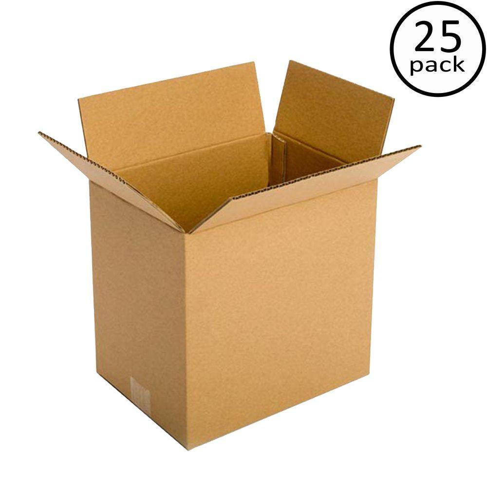 11-1/4 in. x 8-3/4 in. x 12 in. 25 Moving Box