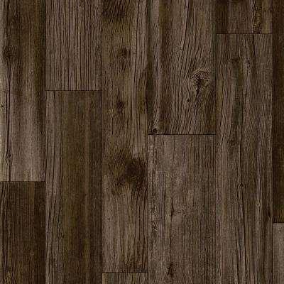 Stratamax Value Plus 12 ft. Width x Custom Length Dark Mocha Residential Vinyl Sheet Flooring