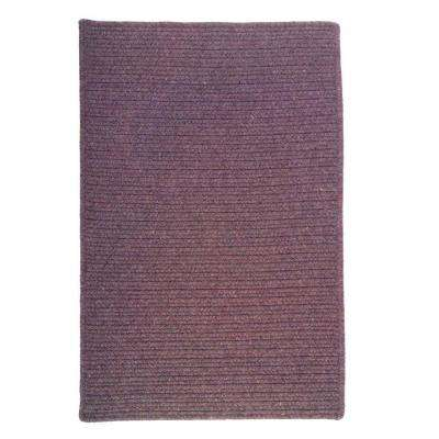 Courtyard Orchid 2 ft. x 4 ft. Braided Accent Rug