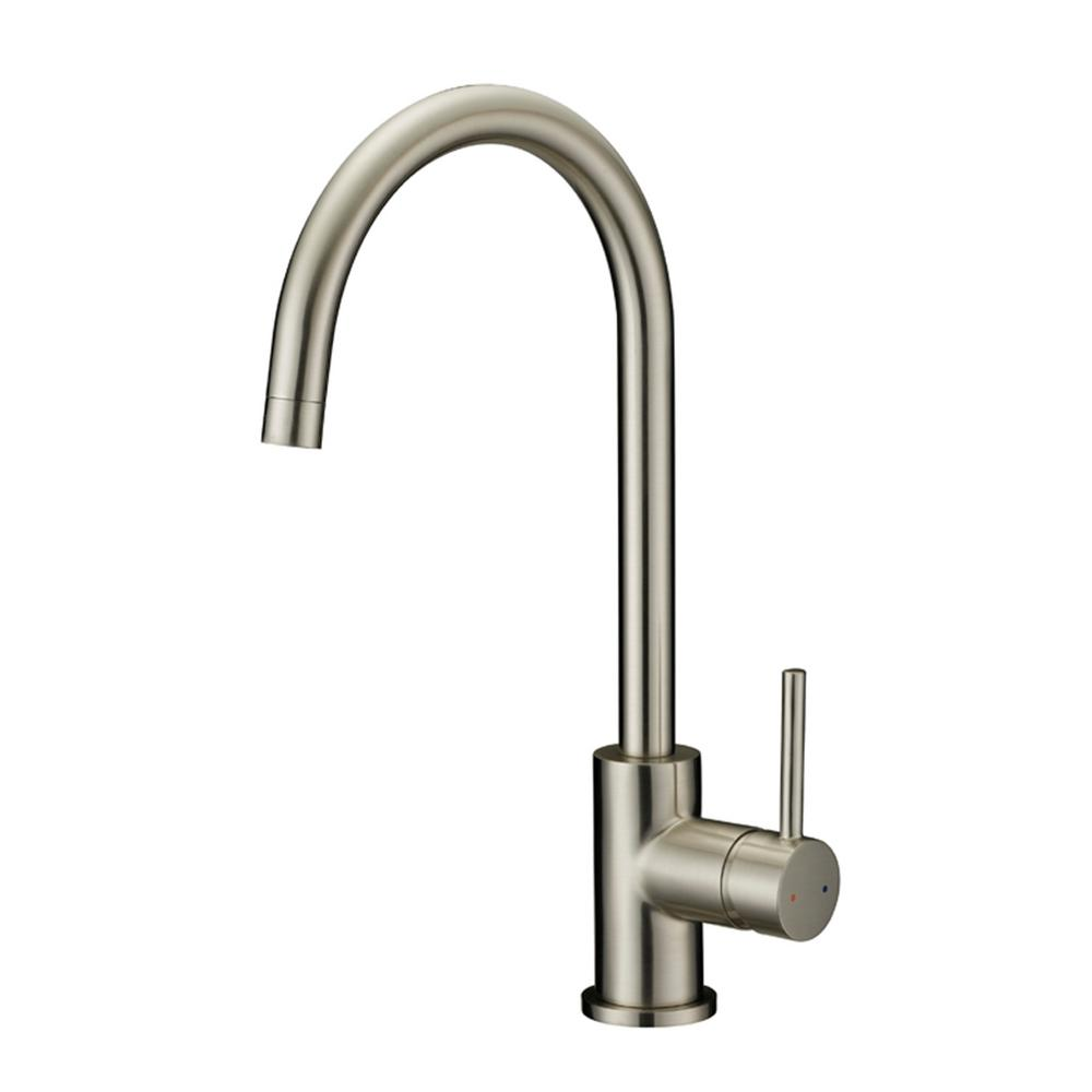 Design House Ashland 2-Handle Standard Kitchen Faucet with Side ...