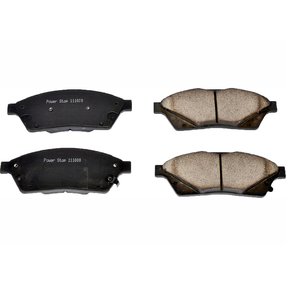 Power Stop Disc Brake Pad Set 2010-2011 Cadillac Srx 2.8l