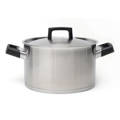 Ron 6.8 qt. Stainless Steel Stock Pot with Lid