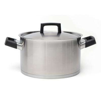 Ron 6.8 Qt. Stock Pot with Lid