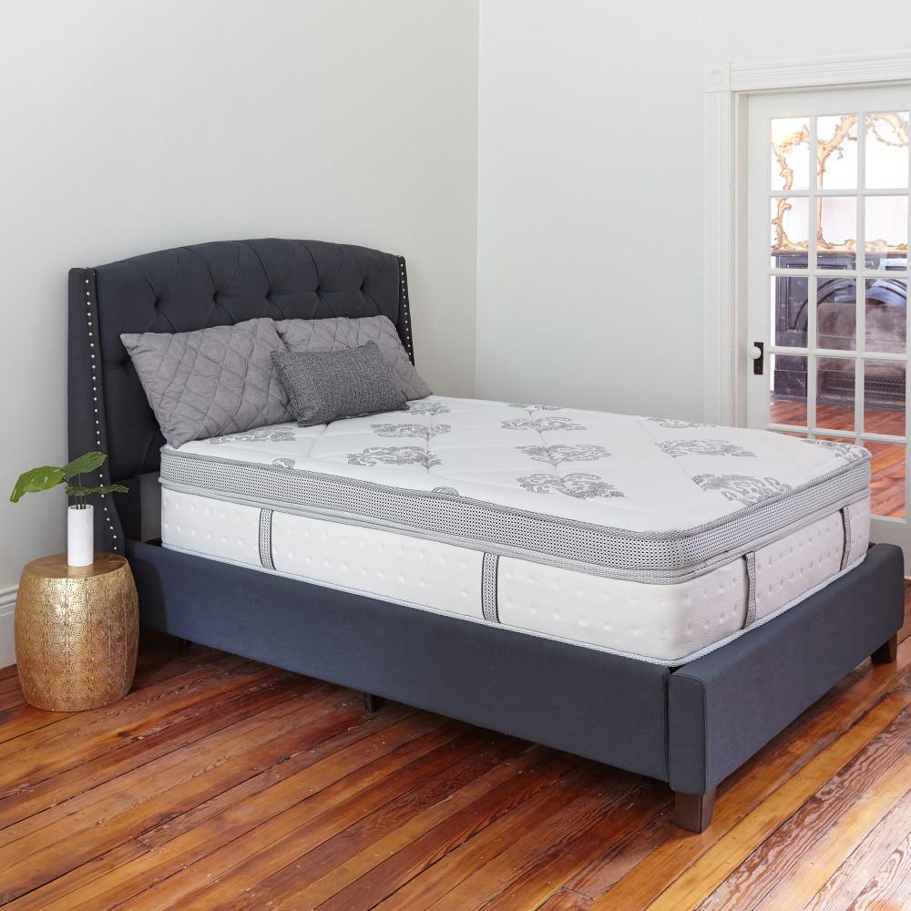 furniture living response size kaymed gel ez instant mattress king ft