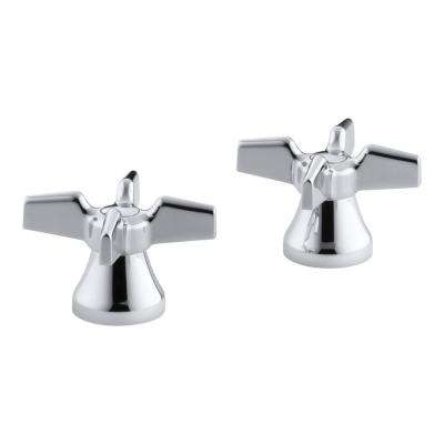Triton Cross Handles in Polished Chrome (2-Pack)