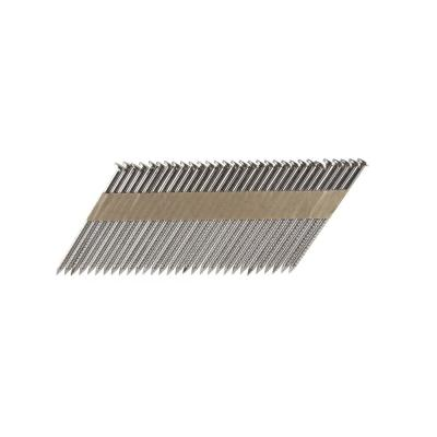 B C Eagle 3 In X 0 131 Paper Tape Collated Stainless Steel Ring Shank Framing Nails 500 Per Box A3x131rss 33 The Home Depot