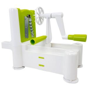 Kitchen Artistry 4-Piece Spiralizer Slicing and Grating Tool