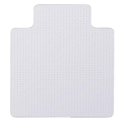 36 in. x 48 in. Clear PVC Carpet Office Chair Mat with Lip
