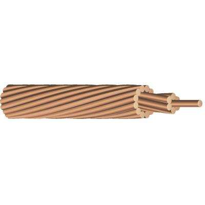 (By-the-Foot) 18-Gauge Stranded SD Bare Copper Grounding Wire